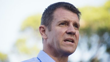 New clinic: NSW Premier Mike Baird.