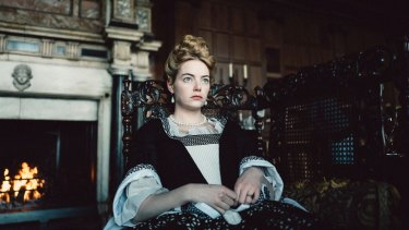 Emma Stone executes a dramatic change in temperament and personality without taking one false step in <i>The Favourite</I>.