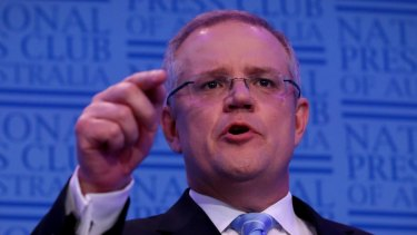 Treasurer Scott Morrison has been advised to stick to his day job and not be an amateur YouTube director by Bill Shorten.