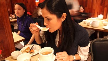 Shark fin soup might have high arsenic levels.