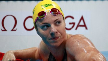 Big hope coming into the Games: Emily Seebohm.