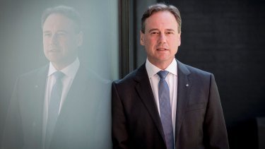 Health Minister Greg Hunt is under pressure to lift the freeze on Medicare rebates.