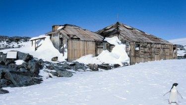 Mawson's Huts, Cape Denison, Antarctica.