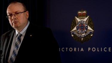 Victoria's Chief Commissoner of Police Graham Ashton.