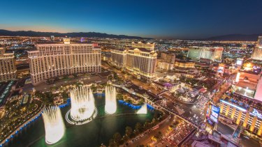 Crown says the value of the land it purchased on the Vegas strip continues to appreciate while it beds down its plans.