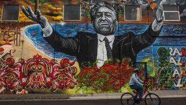 Franco Cozzo street art.