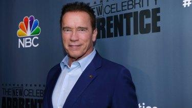 Arnold Schwarzenegger has quit as host of <i>The Celebrity Apprentice.</i>
