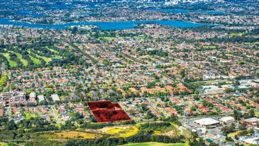 Superlot in North Strathfield, NSW for sale for $90 million.