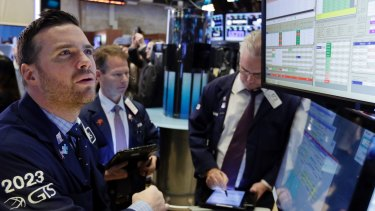 The New York Stock Exchange rallied on Monday after the FBI said newly discovered Clinton emails did not warrant any action.