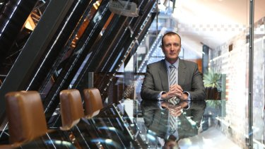 Prime Media chief executive Ian Audsley. It announced full-year profit will be up to $5.5 million more than expected.
