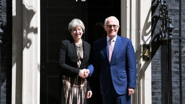 Mr Turnbull used his visit to London to study counter-terrorism approaches.