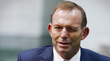If the feds want someone to go rabid on same-sex marriage, Tony Abbott's their man.