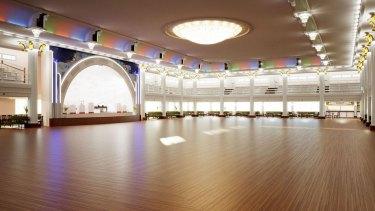 The digital recreation of Cloudland Ballroom Brisbane