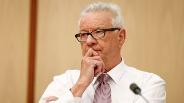 Labor senator Doug Cameron asked Fair Work Ombudsman Natalie James whether she had asked her media director if he was the source of the leak.