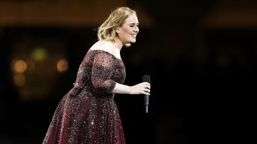 Adele was the victim of a power outage during her Adelaide show, allegedly caused by a plug being pulled out.