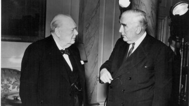 In 1941, Robert Menzies and Winston Chruchill meet in the midst of World War II.