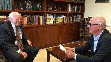 John Howard was interviewed by Michael Gordon in January.