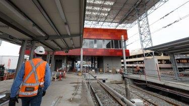 The 2.7-kilometre light rail link will cost $250 million per kilometre.