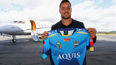 The Hayne plane has landed ... in the Gold Coast.