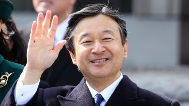 Japan's Crown Prince Naruhito in February.