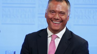 Sharing a message of hope: Stan Grant.
