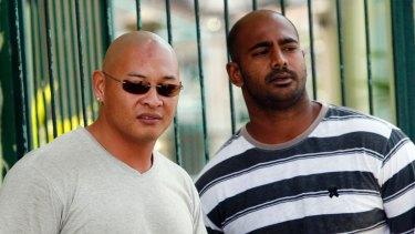 Andrew Chan, left, and Myuran Sukumaran in 2011.