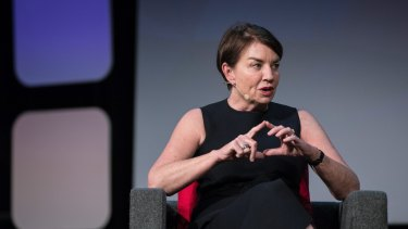 """Anna Bligh, the chief executive of the Australian Bankers' Association: Inquiries """"never go the way that people think""""."""