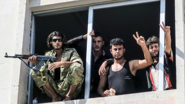 Free Syrian Army fighters in Jarablus hope that their campaign will take them to besieged Aleppo. But will their Turkish patrons agree?