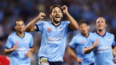 Milos Ninkovic has quashed any suggestions of Sydney nerves or doubts of inferiority.