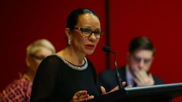 Labor's deputy leader in NSW Parliament, Linda Burney, is running for the federal seat of Barton.