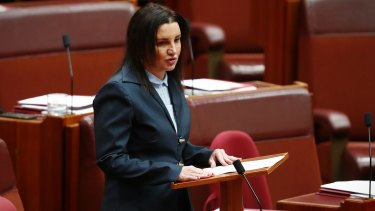 Senator Jacqui Lambie is pushing for tighter regulation of the lobbying industry.