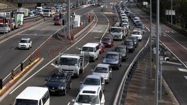 Sydney's infamous traffic.