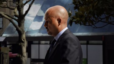Muhammad Naveed arrives at Sydney's Downing Centre.