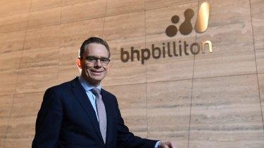 BHP Billiton CEO Andrew Mackenzie.