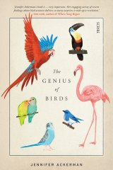 <i>The Genius of Birds</i> by Jennifer Ackerman.