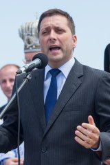 Opposition leader and former planning minister Matthew Guy.