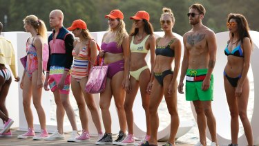 The Iconic's swimwear show featured 30 models ranging in size from 8 to 16.