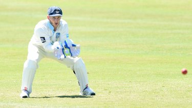 Snubbed: Peter Nevill had been tipped for a return to the Test team.