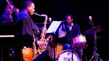 Utterly exhilarating: The Wayne Shorter Quartet performe at Melbourne International Jazz Festival.