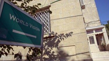 World Vision's Jerusalem offices.