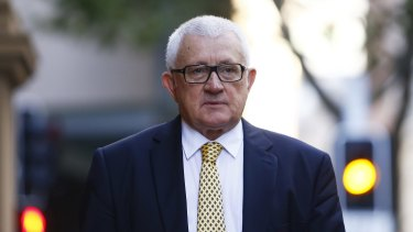Ron Medich outside court on Thursday.