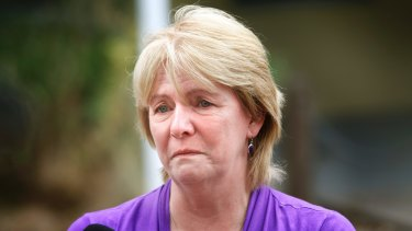 Carol Matthews, whose son Sam was 22 when he died in the ferocious Black Saturday fires.