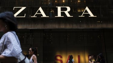 The rise of the international apparel brands is hurting local chains.