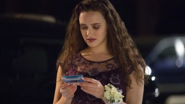 Katherine Langford stars as Hannah Baker in <I>13 Reasons Why</I>.
