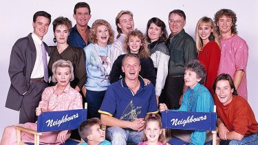 The 1980s brought us Neighbours, including actors  who would go on to world fame such as Kylie Minogue, Jason Donovan and Guy Pearce.