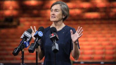 Louise Herron, Sydney Opera House CEO, details the improvements at the Joan Sutherland Theatre.