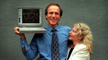 Dr Alan and Dr Elizabeth Finkel pictured in 2000.