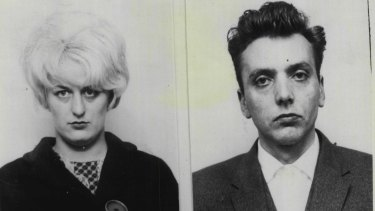 The Moors murderers, Myra Hindley and Ian Brady, were found guilty in 1966.