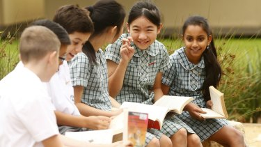 Carlingford West has made significant improvements in NAPLAN numeracy and reading.