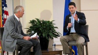 'Very unfortunate, unhelpful': House Speaker Paul Ryan in Milwaukee..